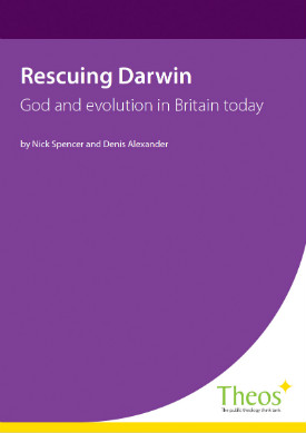 Cover of Theos' report Rescuing Darwin