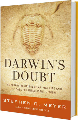 Cover of recent book Darwin's Doubt