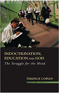 Book cover - Indcotrinatio, education and God